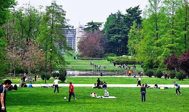 O que fazer no Sempione Park em Milão