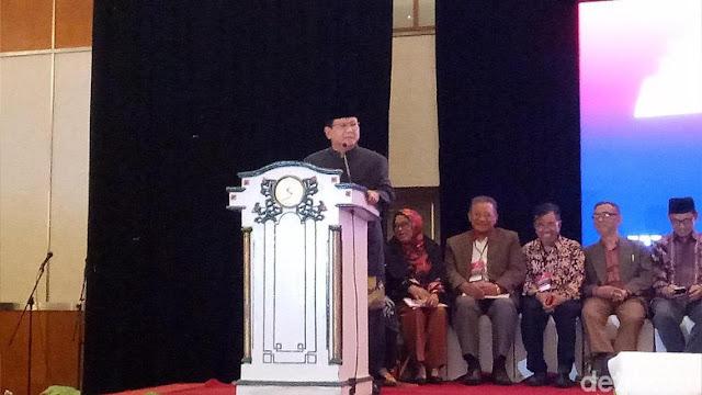 Cerita Prabowo Soal Anak Muda Yang Merasa Dijajah