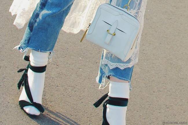 Japanese Fashion Blogger,MizuhoK,0311OOTD,Zara-bomber jacket,green velvet sandals,JEANASIS nonsleeve,JEANS-Rosegal,3.1 Phillip Lim-bag