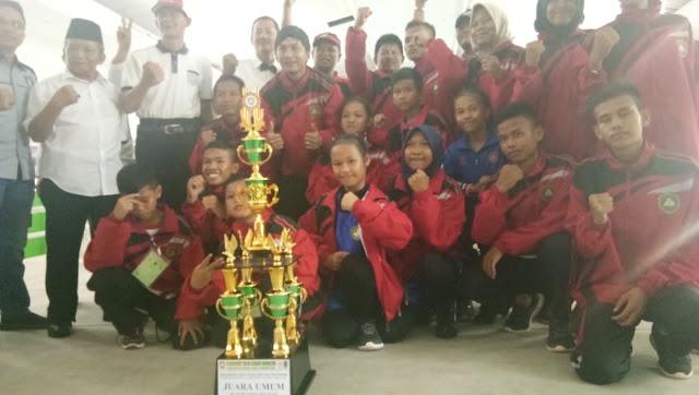 Jungkalkan Palembang PALI Juara Umum Tinju se Sumsel