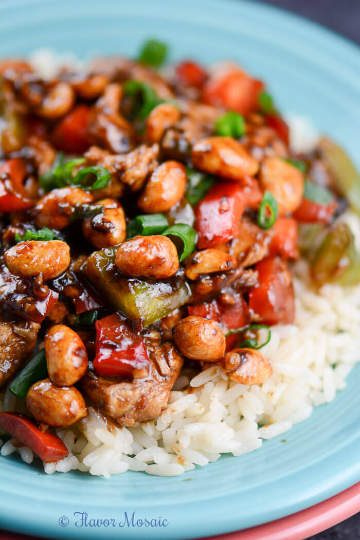#Recipe : Easy Kung Pao Chicken