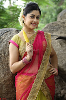 Actress Ronika in Red Saree ~  Exclusive celebrities galleries 048.JPG