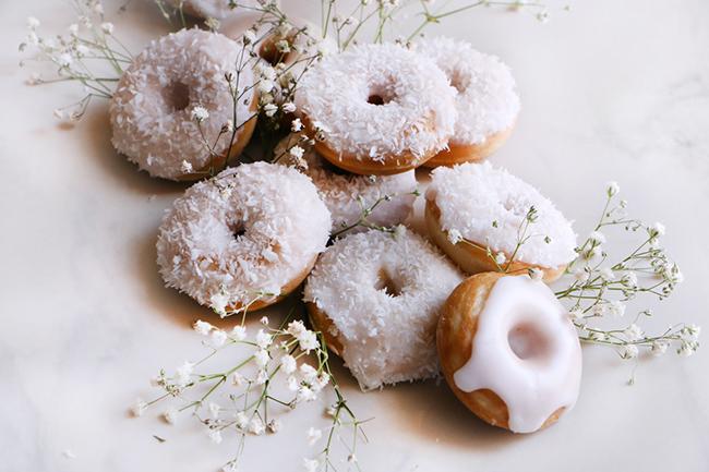 Coconut Mini Doughnut