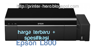 spesifikasi dan harga terbaru printer epson l800