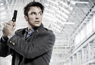 Captain Jack Harkness from Doctor Who and Torchwood