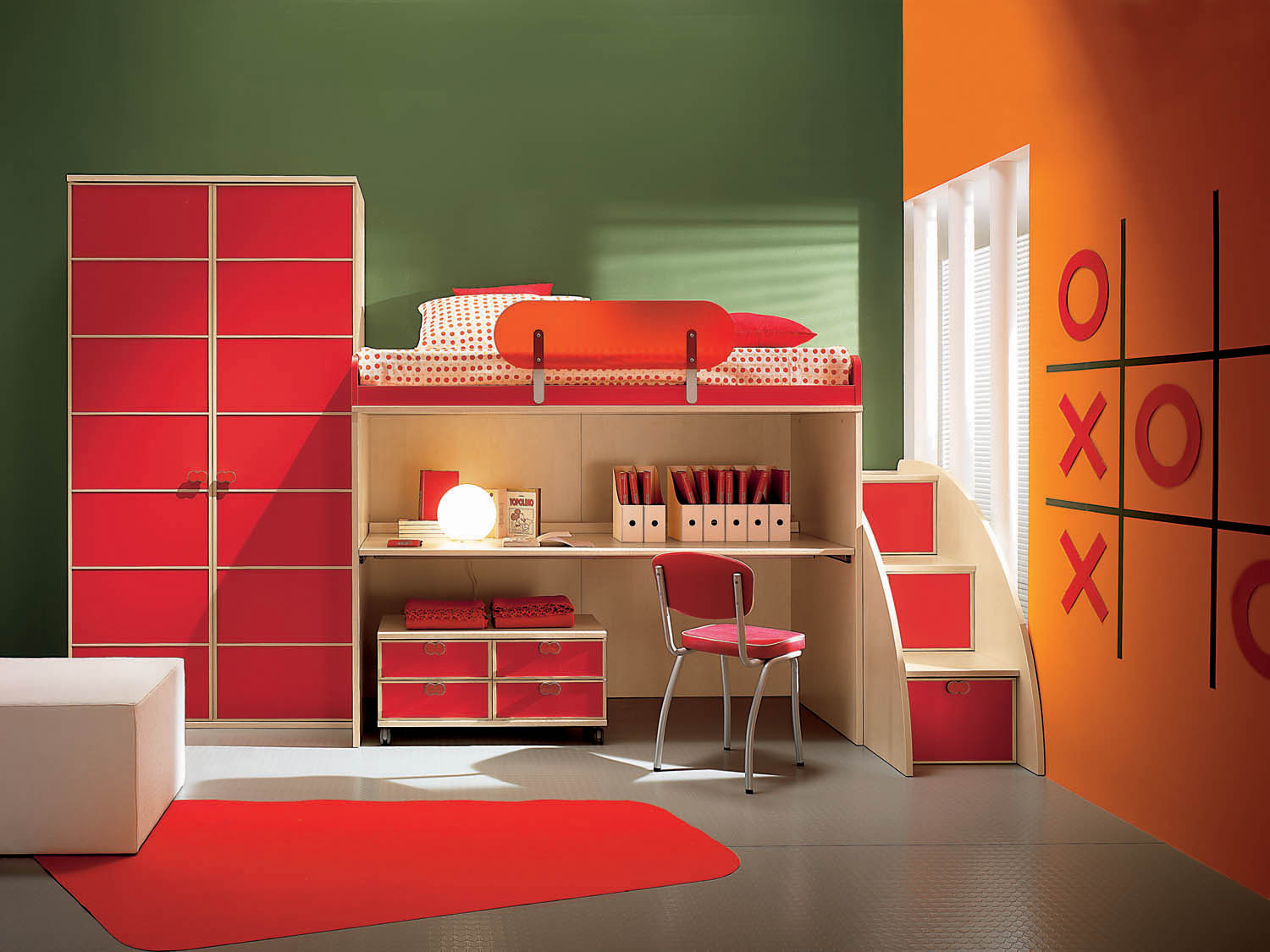 Interior design red color schemes dwell of decor - How to interior design your bedroom ...