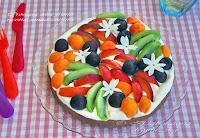 Καλοκαιρινή τάρτα με κρέμα μασκαρπόνε και φρέσκα φρούτα - by https://syntages-faghtwn.blogspot.gr
