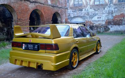 Accord Prestige Kuning Back