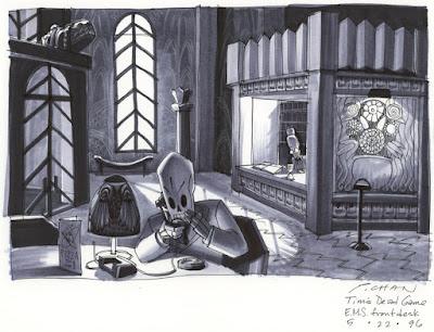 Arte conceptual Grim Fandango