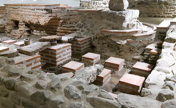 Останки от антична Сердика