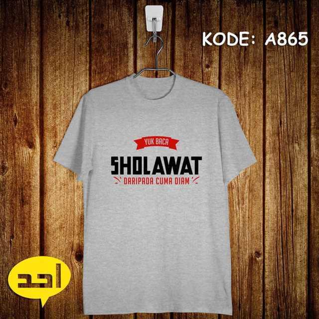 SHOLAWAT Jual Kaos Dakwah Surabaya Bekasi Medan Bandung Jakarta