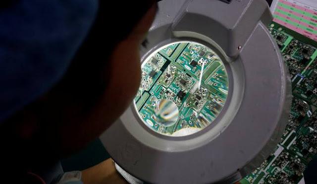 Nhiều nhà máy sản xuất thiết bị điện tử đã bắt đầu chuyển ra khỏi Trung Quốc