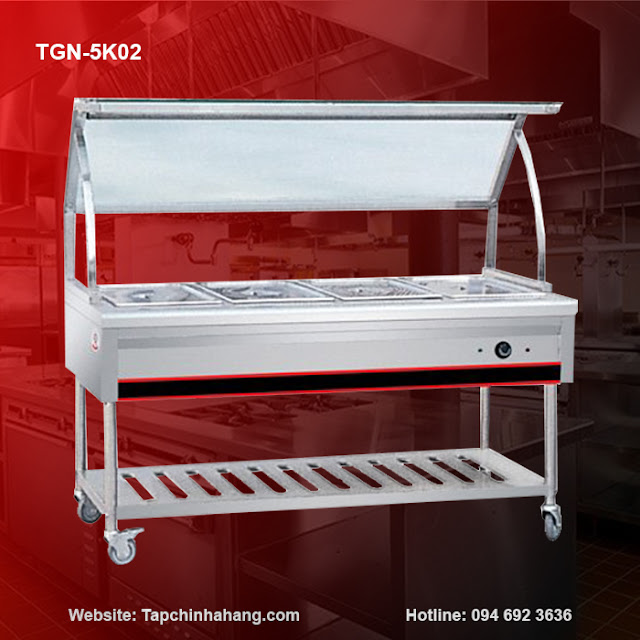 Quầy giữ nóng thức ăn TGN-5K02