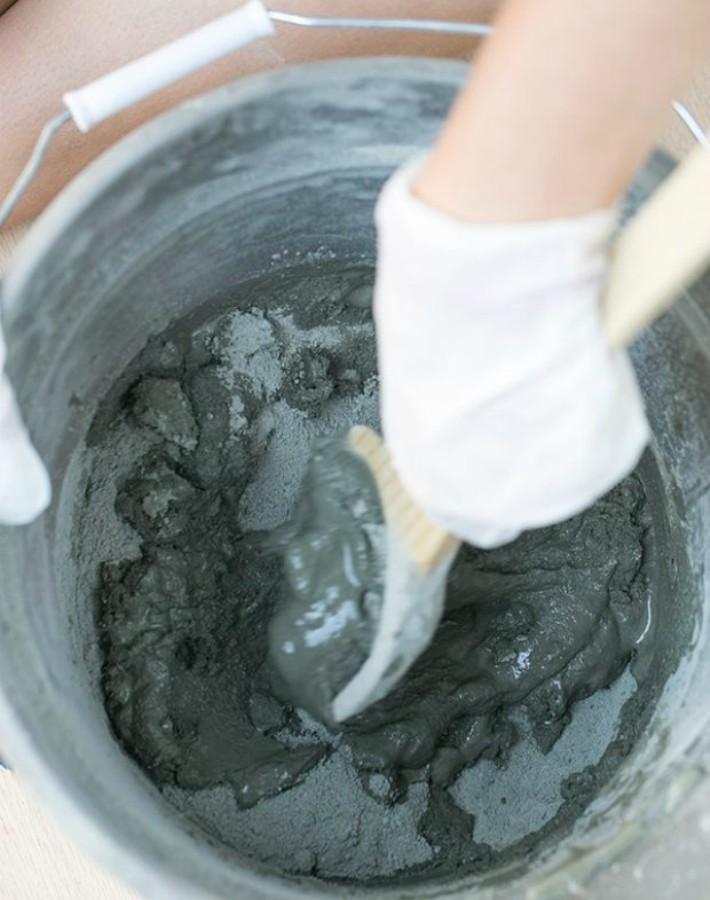 DIY Calabazas de cemento