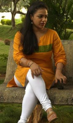 nithya menon hot tight salwar stills leggings
