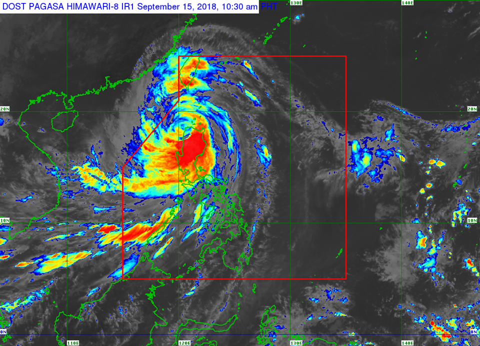 Typhoon Ompong weakens, to exit PAR tonight – PAGASA