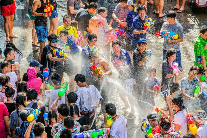 ВТаиланде планируют перенести празднование Сонгкрана с апреля на июль — Thai Notes