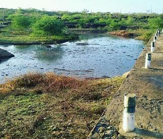 Barragem de Nova Palmeira que estava seca acumula água após chuva dessa quinta-feira