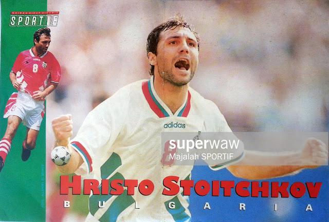 HRISTO STOITCHKOV BULGARIA 1994