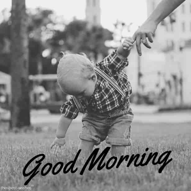 gm cute baby images black and white