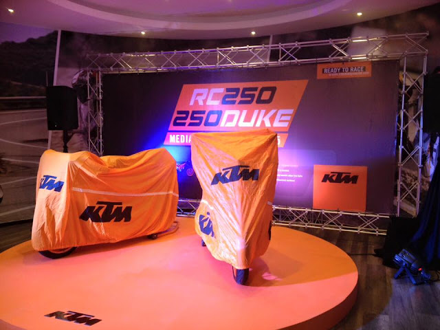 KTM RC250 Dan KTM Duke 250 2015 Di Lancarkan - Harga Asas RM18,888 Dan RM 17,888