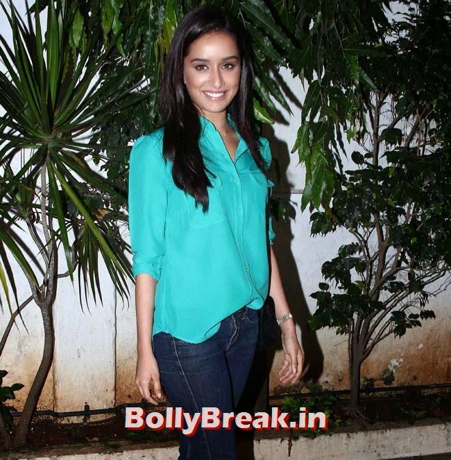 Shraddha Kapoor, Shraddha, Sidharth , Genelia at Ek Villain Success Party