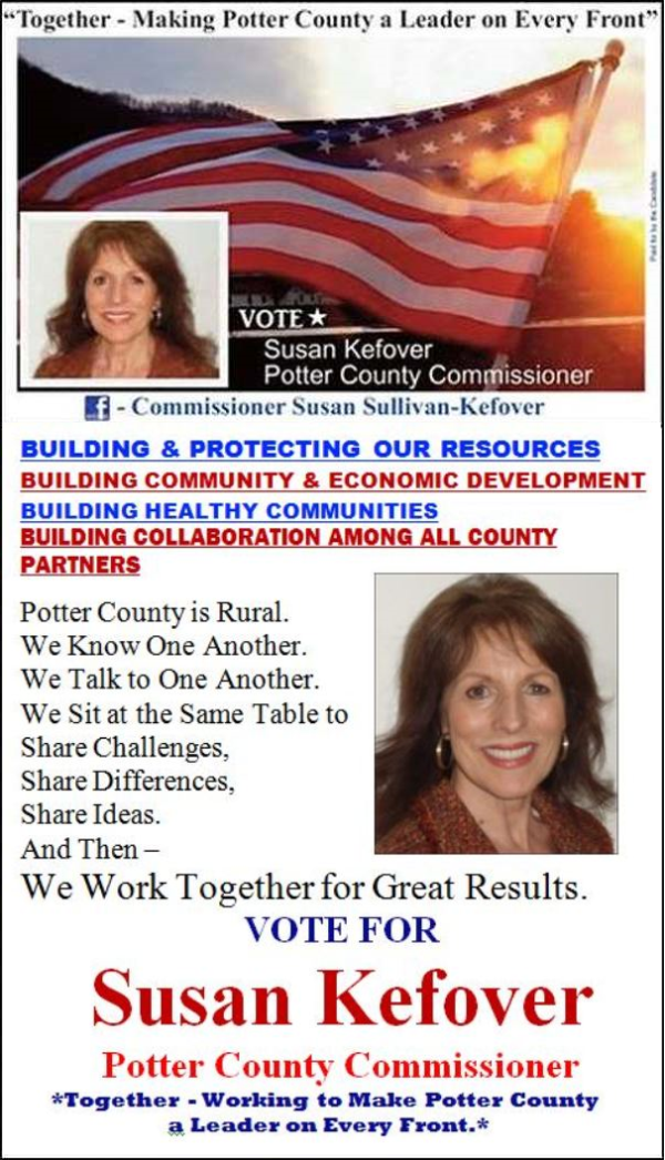 https://www.facebook.com/Potter-County-Commissioner-Susan-Sullivan-Kefover-1419422481691131/