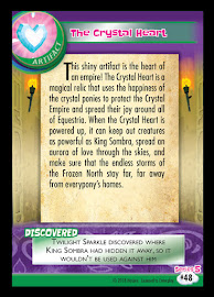 MLP The Crystal Heart Series 5 Trading Card