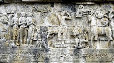 kisah sejarah candi borobudur