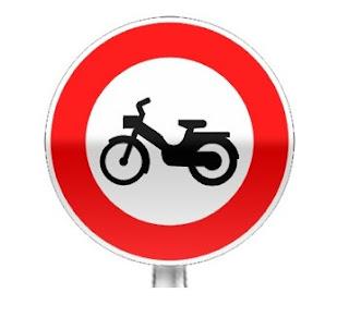 ممنوع الجولان على الدراجات