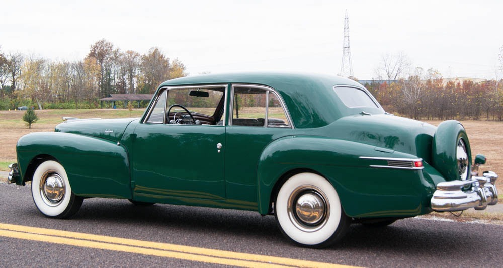 All american classic cars 1948 lincoln continental 2 door for 1948 ford 2 door coupe