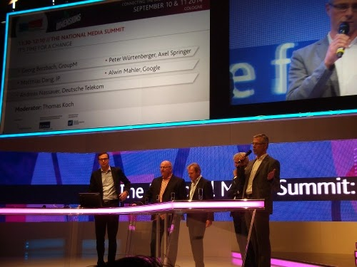 dmexco 2014: The National Media Summit – It's time for a change
