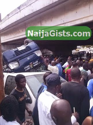 car fall bridge badagry lagos