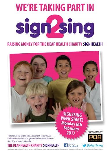 Sign2sing: cantar por la salud