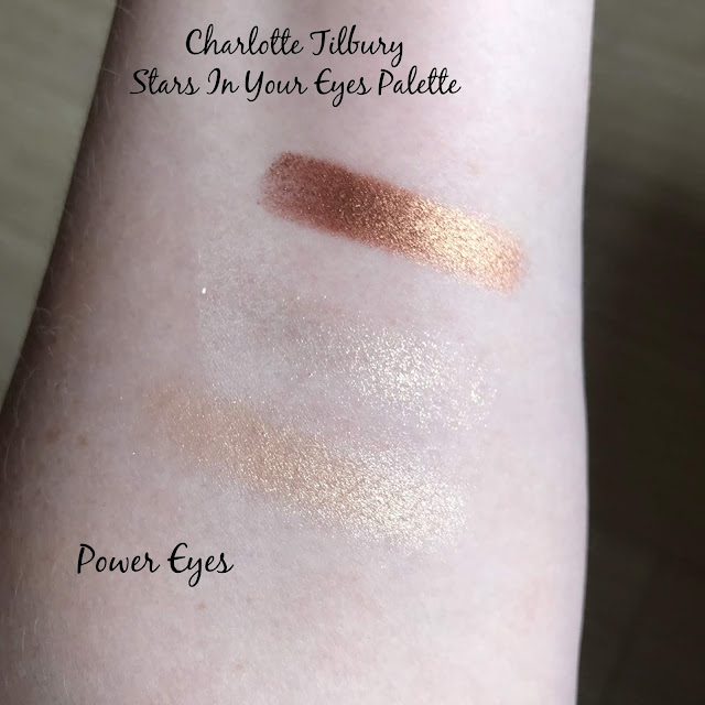 Charlotte Tilbury Power Eyes Stars In Your Eyes Palette Swatches