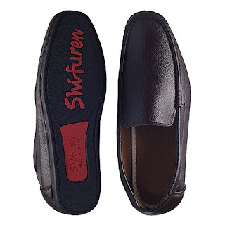Buy online: Shifuren Plain Smart Loafers