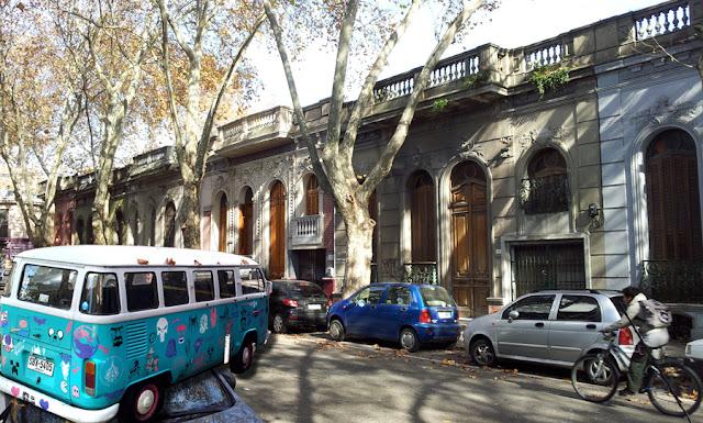 Rua no Bairro Cordon | Montevidéu
