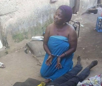 wife murders husband christmas day ikorodu