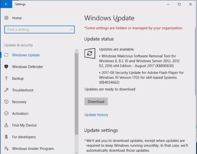 how to make windows update off in windows 10