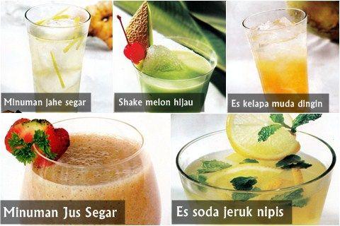 Resep minuman segar untuk buka puasa
