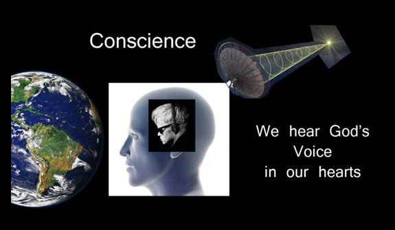 conscience voice god essay But this silence of conscience makes him impenetrable to god and men, while   conscience signifies the perceptible and demanding presence of the voice of.