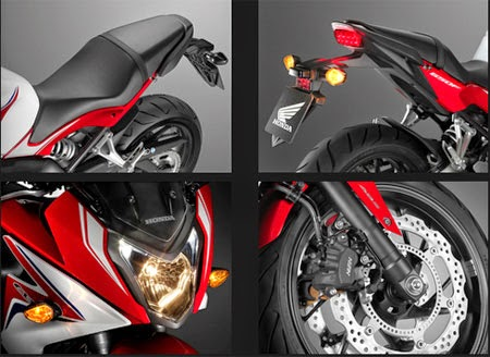 review Honda CBR650F