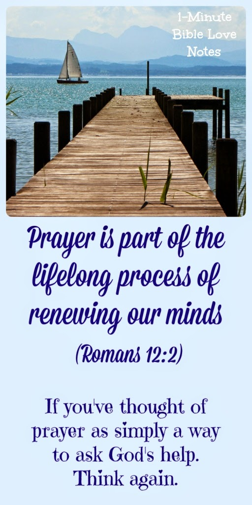 Romans 12:2, prayer, purpose of prayer, Psalms