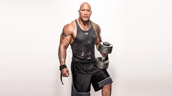 Dwayne, Johnson, Actor, Workout, 8K, #4.655