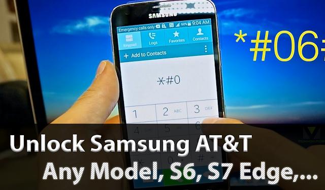 Unlock Samsung AT&T