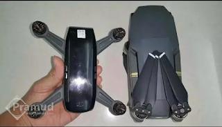 spesifikasi fitur drone terbaru DJI spark indonesia - pramud blog