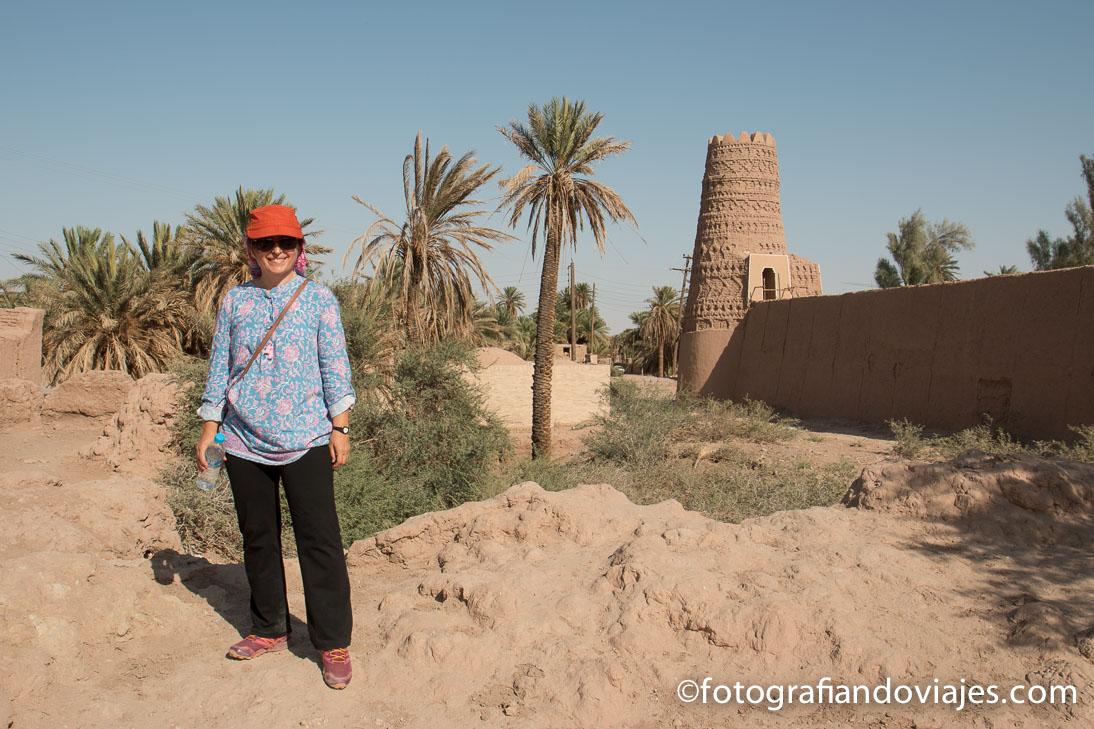Shafiabad en el desierto Lut o Dasht-e Lut en Iran
