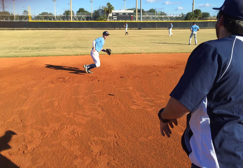 Shortstop Agility Drills