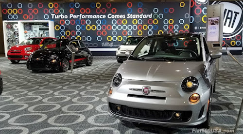 Fiat at New York Auto Show