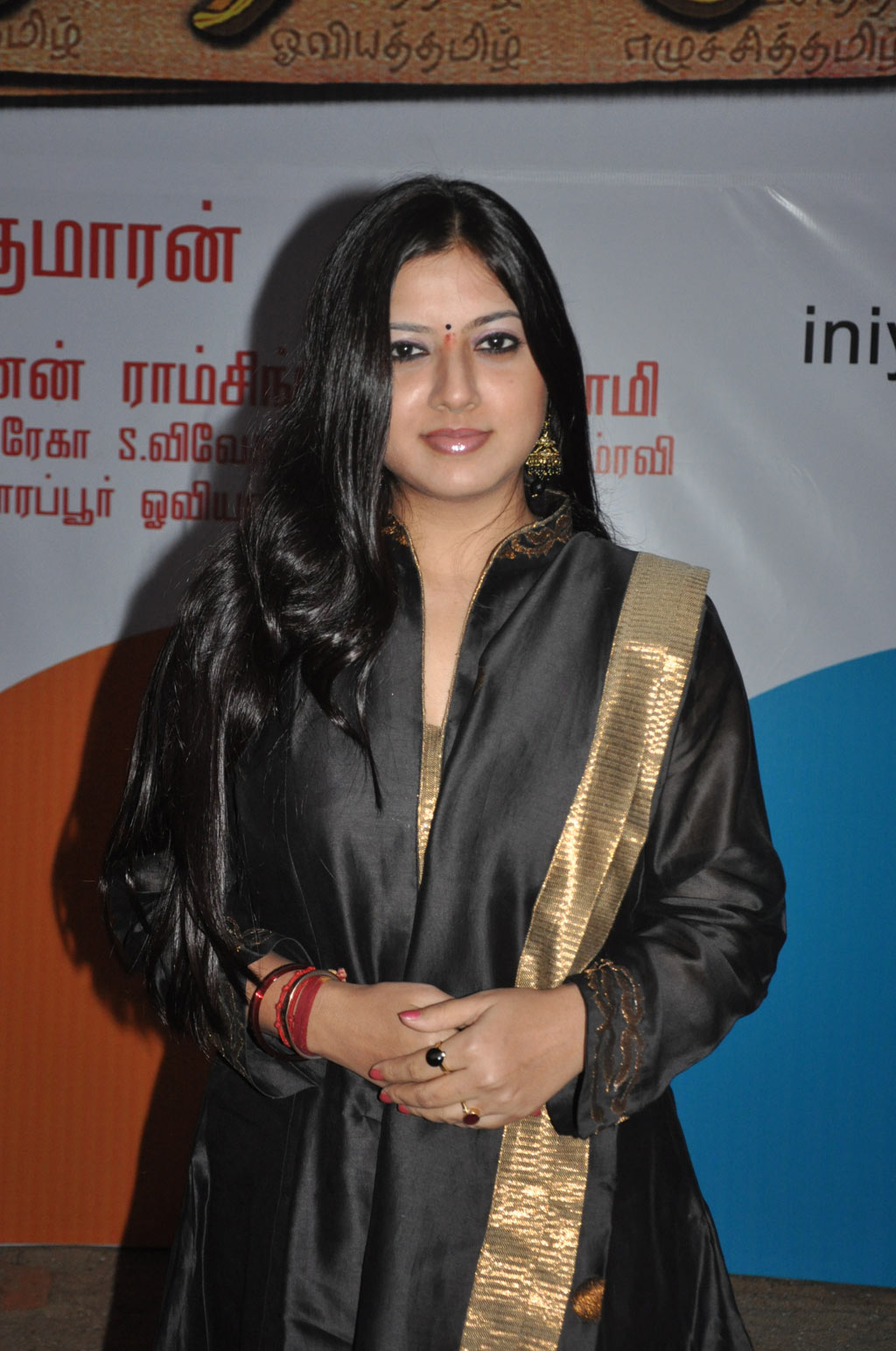 Cute keerthi chawla in black